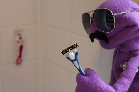 To shave would be a crime.